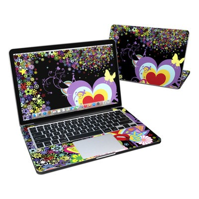 MacBook Pro Retina 13in Skin - Flower Cloud