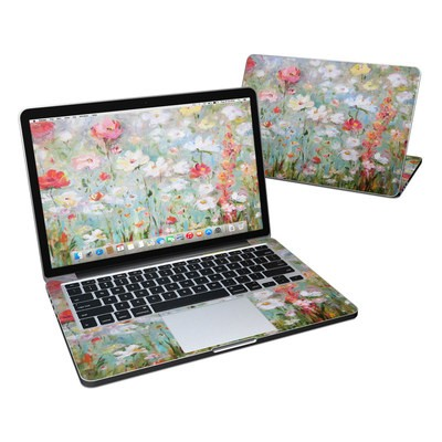 MacBook Pro Retina 13in Skin - Flower Blooms