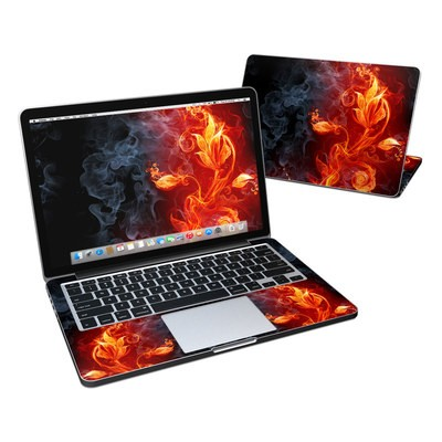 MacBook Pro Retina 13in Skin - Flower Of Fire