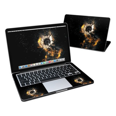 MacBook Pro Retina 13in Skin - Flower Fury