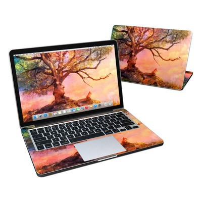 MacBook Pro Retina 13in Skin - Fox Sunset