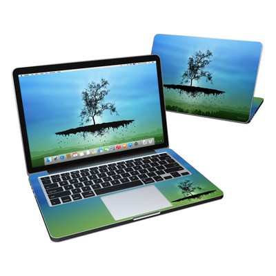 MacBook Pro Retina 13in Skin - Flying Tree Blue