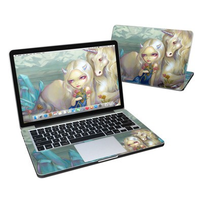 MacBook Pro Retina 13in Skin - Fiona Unicorn