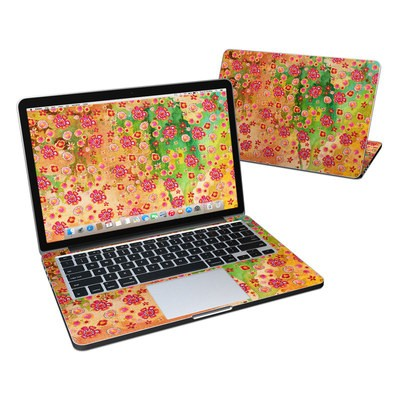 MacBook Pro Retina 13in Skin - Garden Flowers