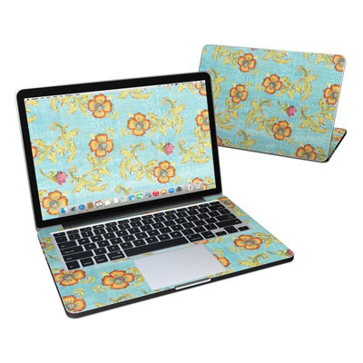 MacBook Pro Retina 13in Skin - Garden Jewel