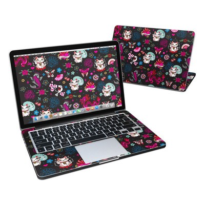 MacBook Pro Retina 13in Skin - Geisha Kitty