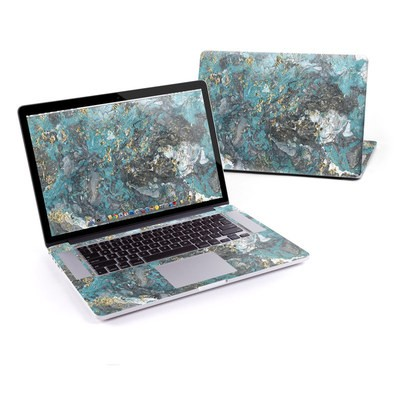 MacBook Pro Retina 13in Skin - Gilded Glacier Marble