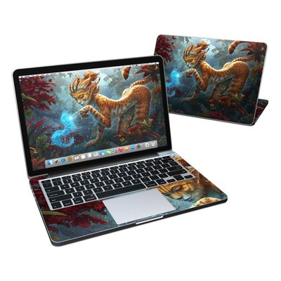 MacBook Pro Retina 13in Skin - Ghost Centipede