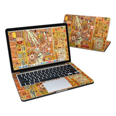 MacBook Pro Retina 13in Skin - The Golding Time