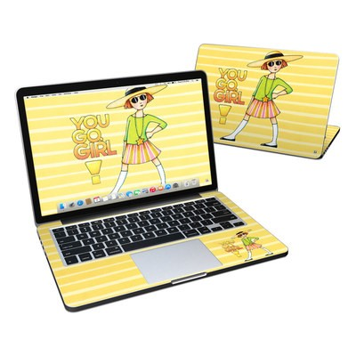 MacBook Pro Retina 13in Skin - You Go Girl