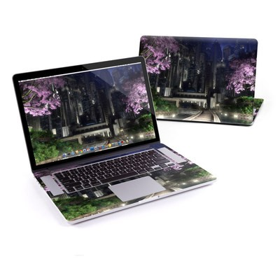 MacBook Pro Retina 13in Skin - Gotham Garden