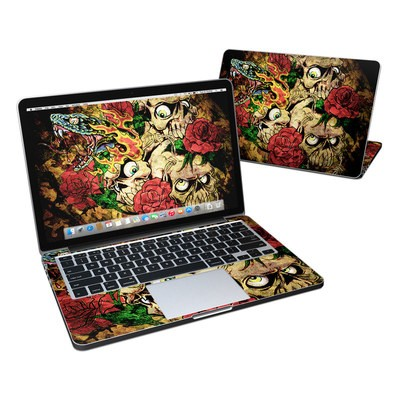 MacBook Pro Retina 13in Skin - Gothic Tattoo
