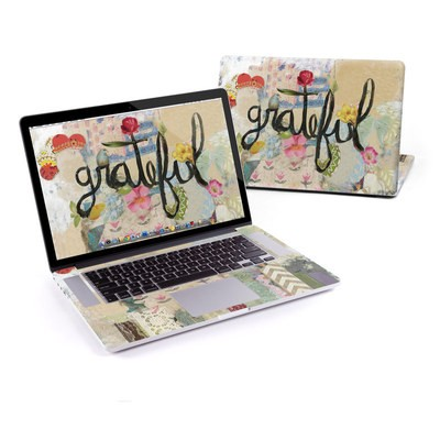 MacBook Pro Retina 13in Skin - Grateful