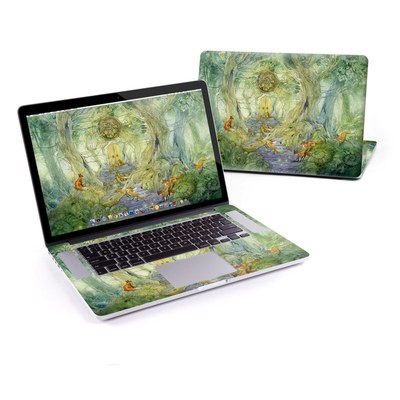 MacBook Pro Retina 13in Skin - Green Gate