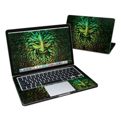 MacBook Pro Retina 13in Skin - Greenman
