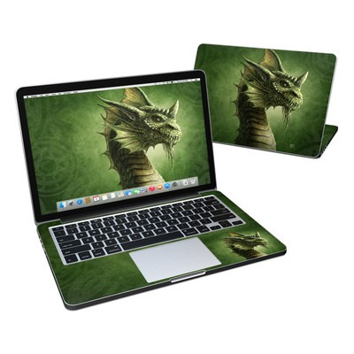 MacBook Pro Retina 13in Skin - Green Dragon