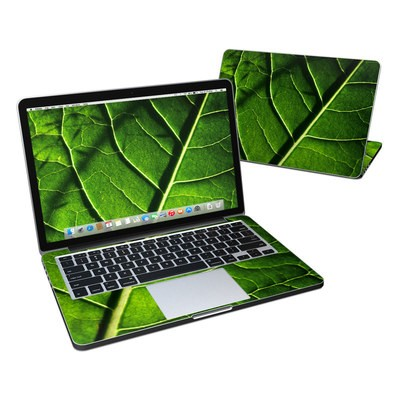 MacBook Pro Retina 13in Skin - Green Leaf