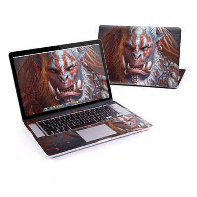 MacBook Pro Retina 13in Skin - Gruddur Orangefist