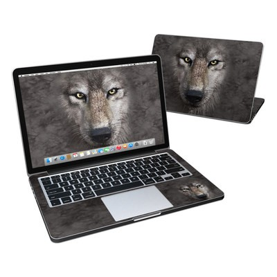 MacBook Pro Retina 13in Skin - Grey Wolf