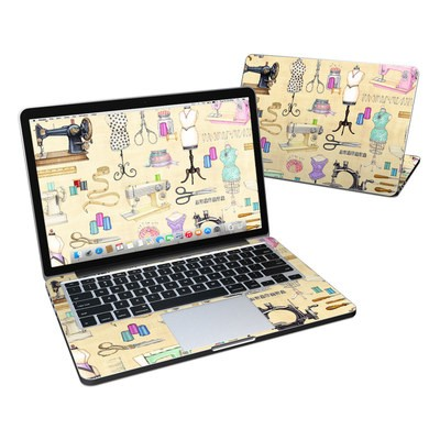 MacBook Pro Retina 13in Skin - Haberdashery