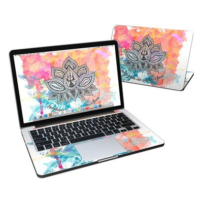 MacBook Pro Retina 13in Skin - Happy Lotus
