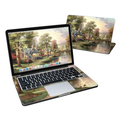 MacBook Pro Retina 13in Skin - Hometown Lake