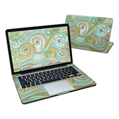 MacBook Pro Retina 13in Skin - Honeydew Ocean
