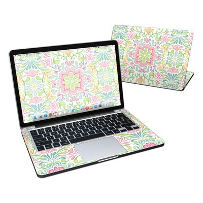 MacBook Pro Retina 13in Skin - Honeysuckle