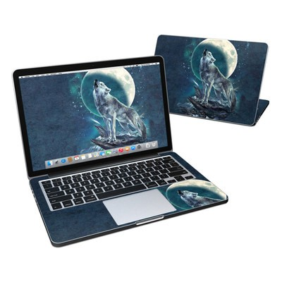 MacBook Pro Retina 13in Skin - Howling Moon Soloist