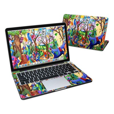 MacBook Pro Retina 13in Skin - Happy Town Celebration