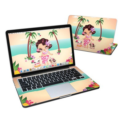 MacBook Pro Retina 13in Skin - Hula Lulu