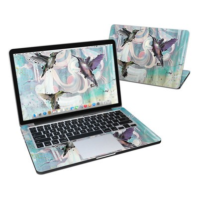MacBook Pro Retina 13in Skin - Hummingbirds