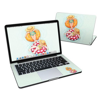 MacBook Pro Retina 13in Skin - Inner Tube Girls