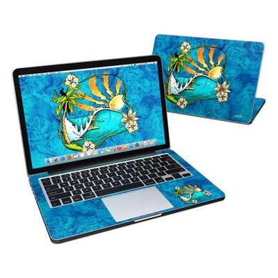 MacBook Pro Retina 13in Skin - Island Playground