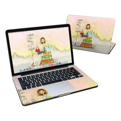 MacBook Pro Retina 13in Skin - The Jet Setter