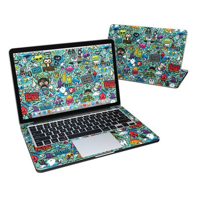 MacBook Pro Retina 13in Skin - Jewel Thief