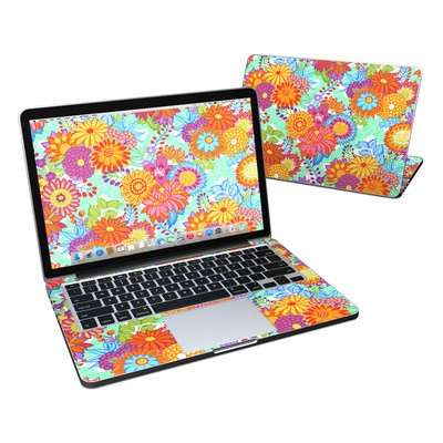 MacBook Pro Retina 13in Skin - Jubilee Blooms