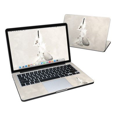 MacBook Pro Retina 13in Skin - Katana Gold