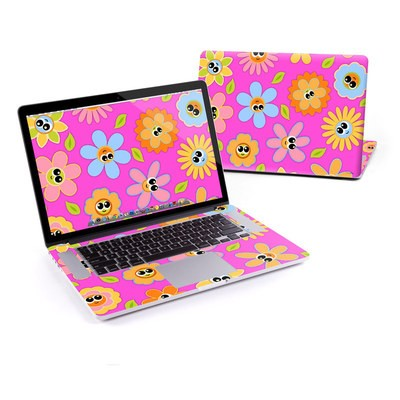 MacBook Pro Retina 13in Skin - Kawaii Flower