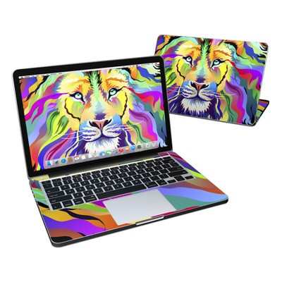 MacBook Pro Retina 13in Skin - King of Technicolor