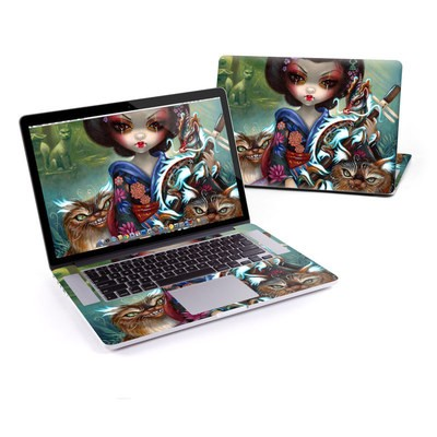 MacBook Pro Retina 13in Skin - Kirin and Bakeneko