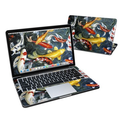 MacBook Pro Retina 13in Skin - Koi's Happiness