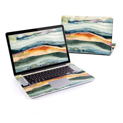 MacBook Pro Retina 13in Skin - Layered Earth