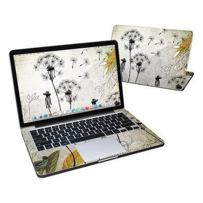 MacBook Pro Retina 13in Skin - Little Dandelion
