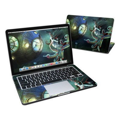 MacBook Pro Retina 13in Skin - 20000 Leagues