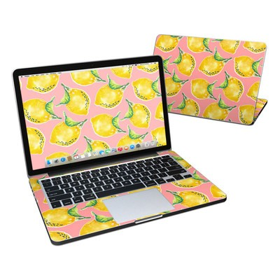 MacBook Pro Retina 13in Skin - Lemon