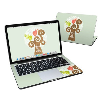 MacBook Pro Retina 13in Skin - Two Little Birds