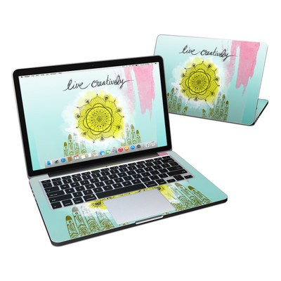 MacBook Pro Retina 13in Skin - Live Creative