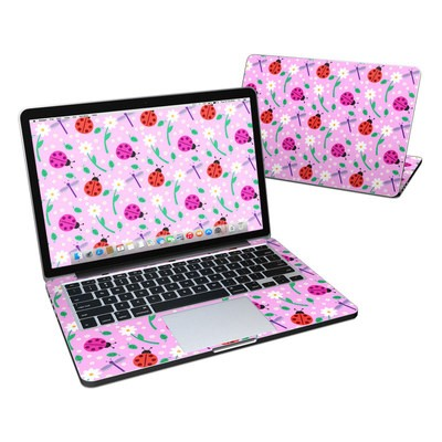 MacBook Pro Retina 13in Skin - Ladybug Land