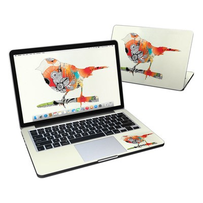 MacBook Pro Retina 13in Skin - Little Bird
